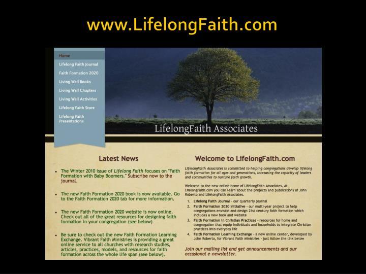 www.LifelongFaith.com