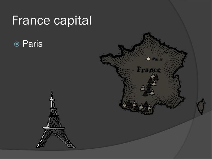 France capital