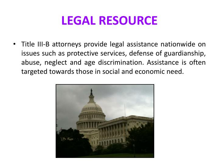 LEGAL RESOURCE