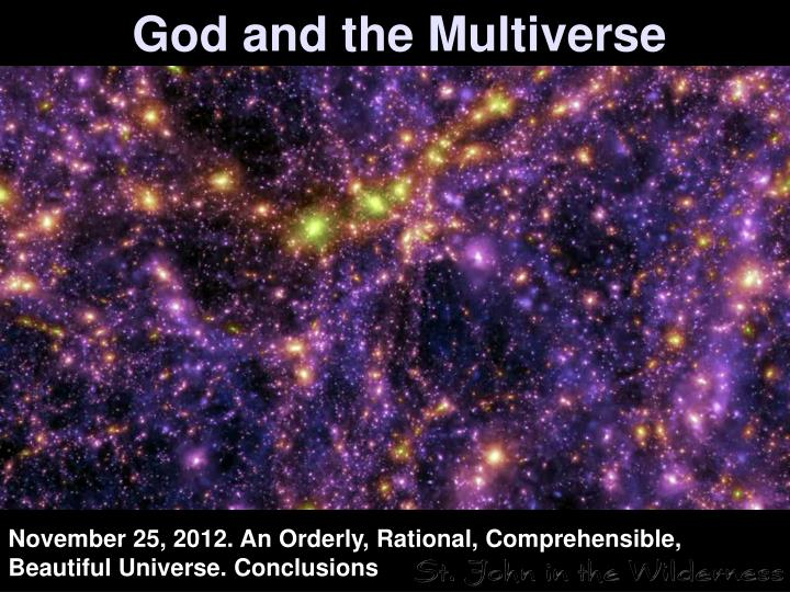 God and the multiverse