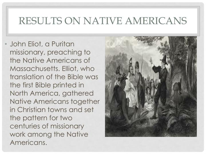 Results on Native Americans