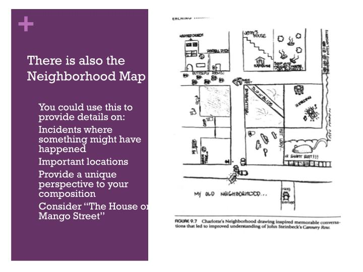 There is also the  Neighborhood Map