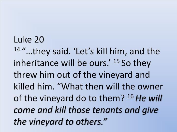 Luke 20