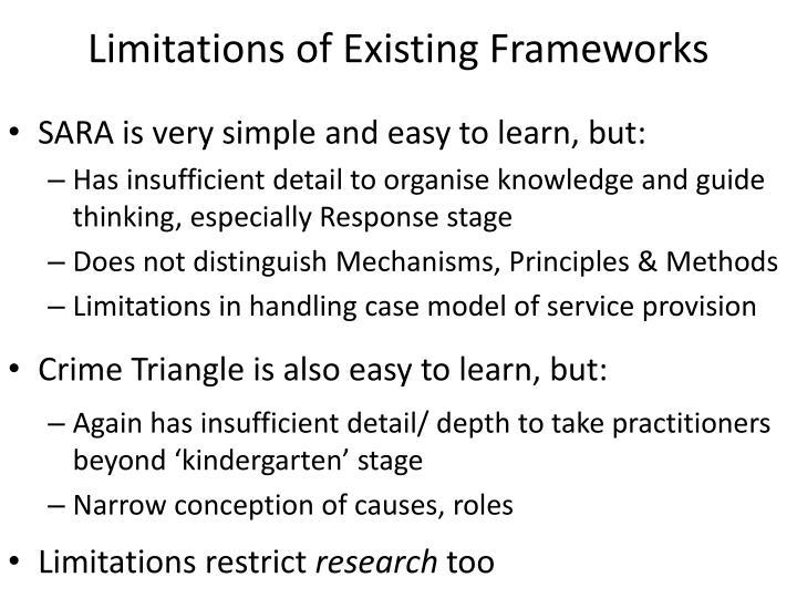 Limitations of Existing Frameworks