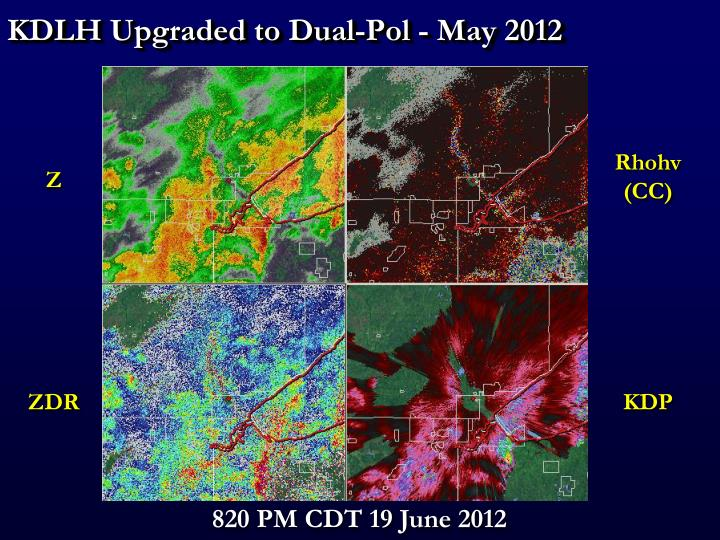 KDLH Upgraded to Dual-Pol - May 2012