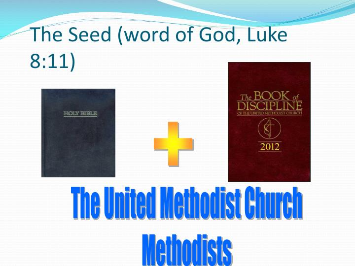 The Seed (word of God, Luke 8:11)