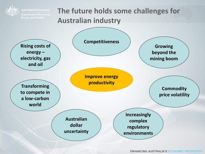 The future holds some challenges for australian industry