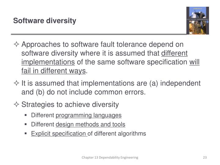 Software diversity
