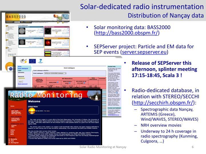 Solar-dedicated