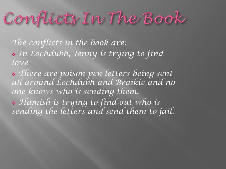 Conflicts In The Book