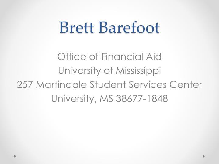 Brett Barefoot