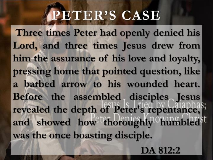 Peter's case