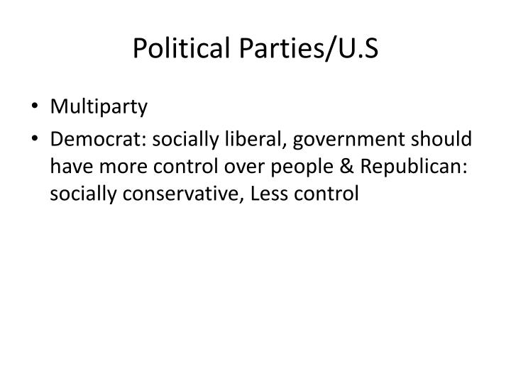 Political Parties/U.S