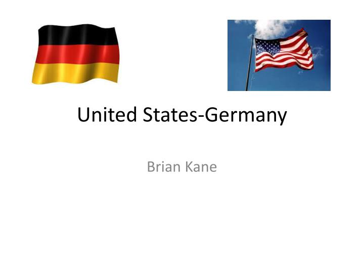 United states germany