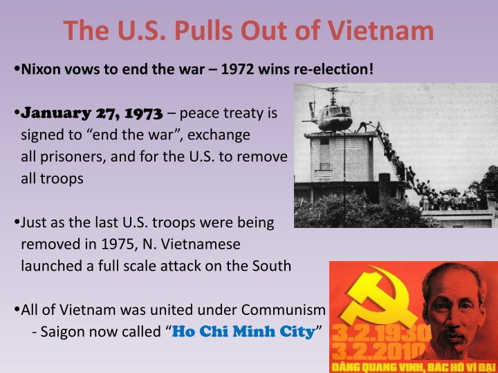 The U.S. Pulls Out of Vietnam