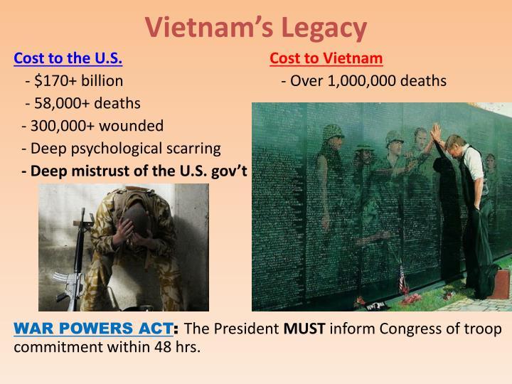 Vietnam's Legacy