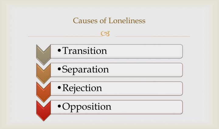 Causes of loneliness