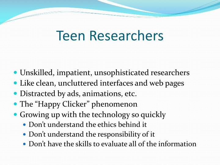 Teen Researchers