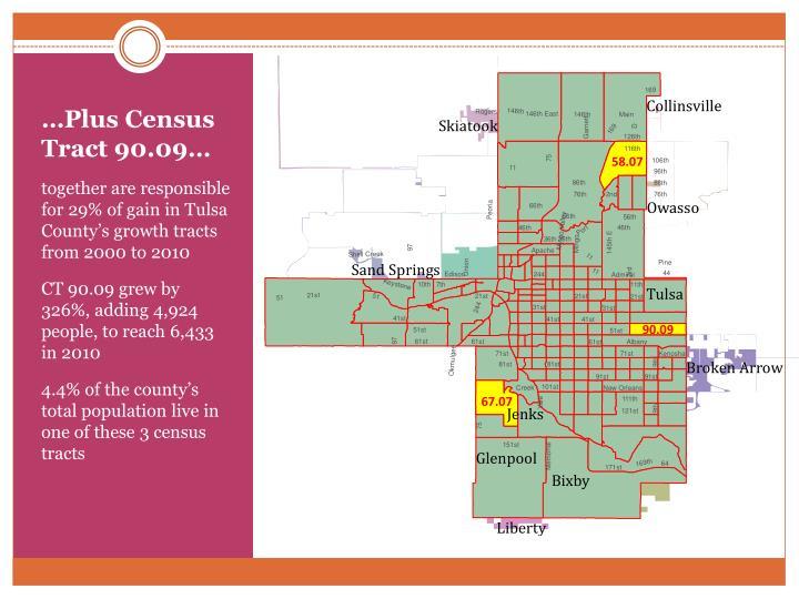 …Plus Census Tract 90.09…