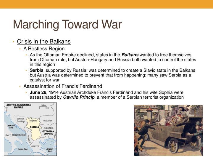 Marching Toward War