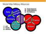 world war military alliances