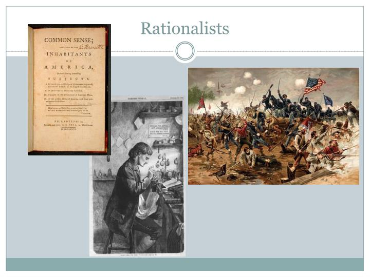 puritans vs rationalists