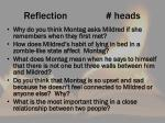 reflection heads