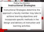 plotting your direction instructional strategies