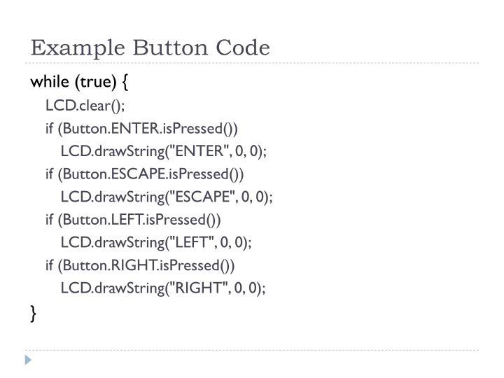 Example Button Code