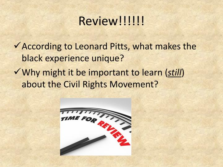 Review!!!!!!