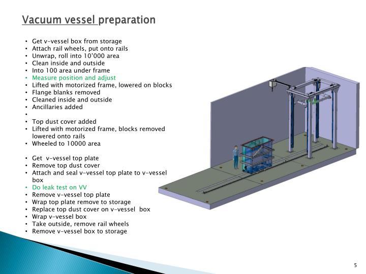 Vacuum vessel