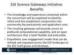 egi science gateways initiative benefits