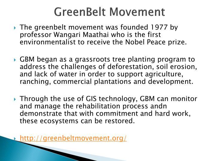 GreenBelt Movement
