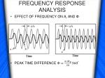 frequency response analysis3