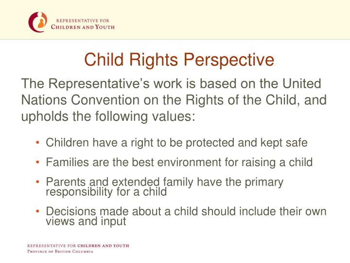 Child Rights Perspective