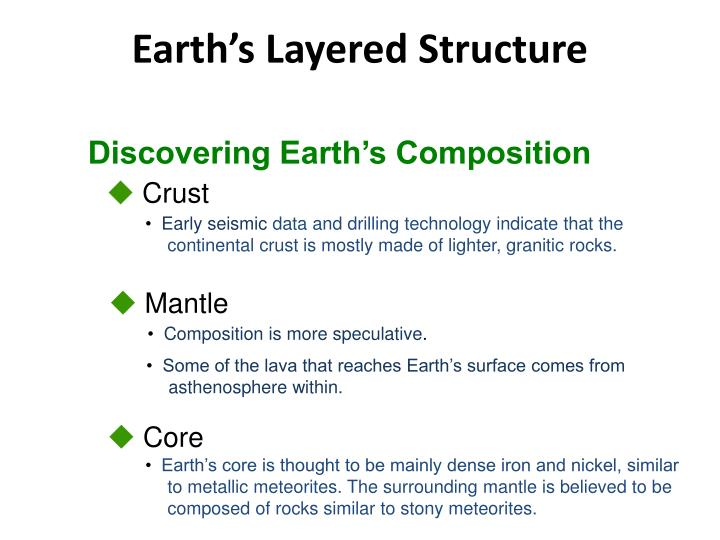 Discovering Earth's Composition