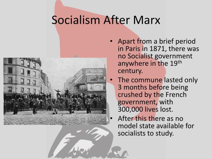 Socialism After Marx