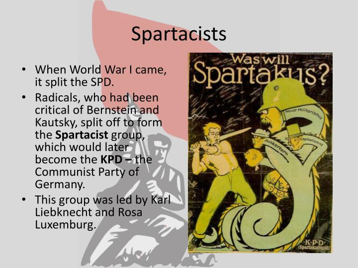 Spartacists