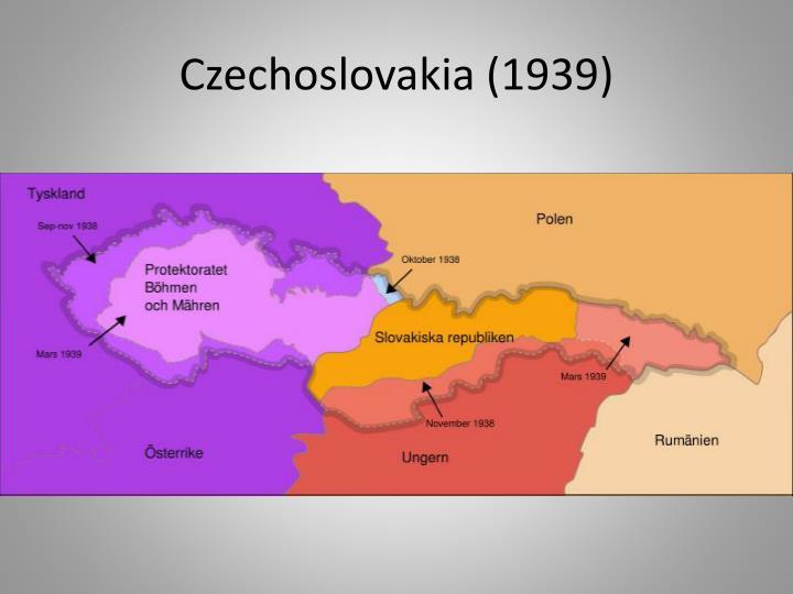 Czechoslovakia (1939)