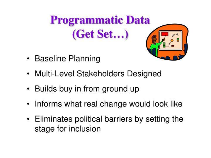 Programmatic Data
