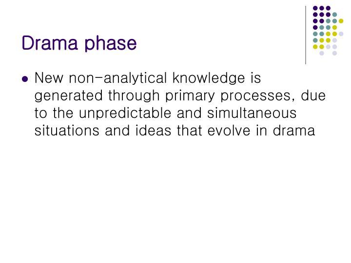 Drama phase