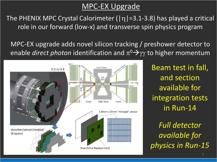 MPC-EX Upgrade