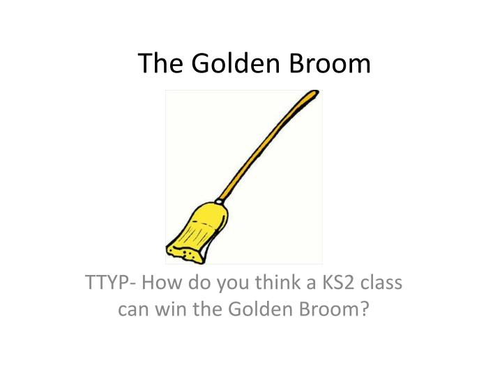 The golden broom