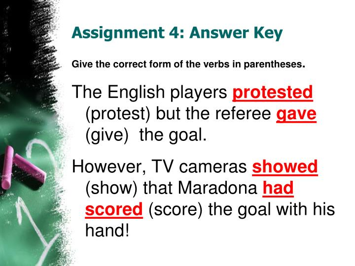 Assignment 4 answer key1
