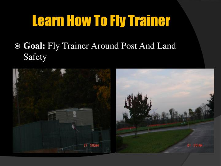 Learn How To Fly Trainer