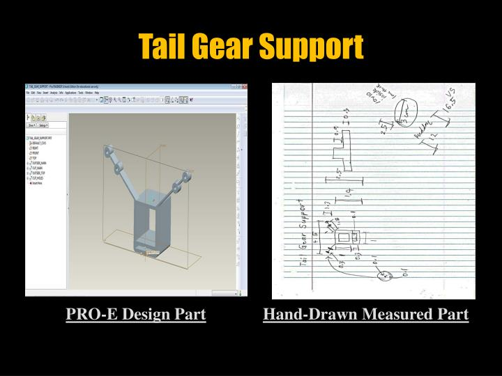 Tail Gear Support