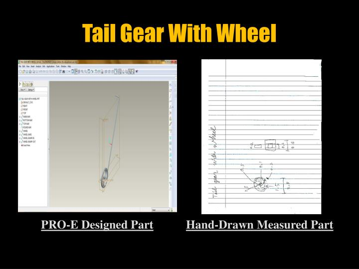 Tail Gear With Wheel