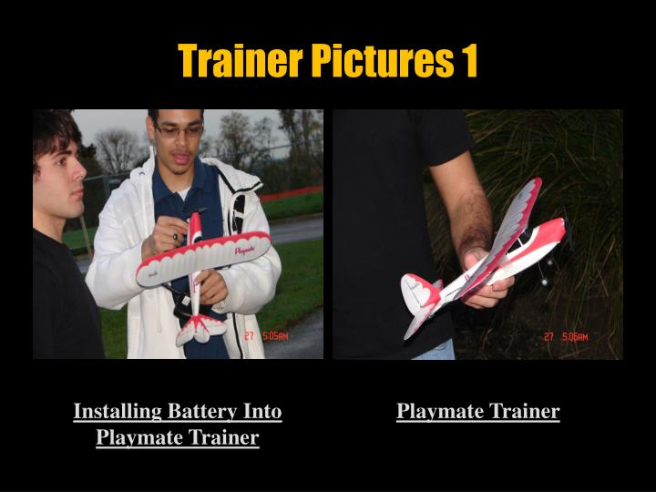 Trainer Pictures 1