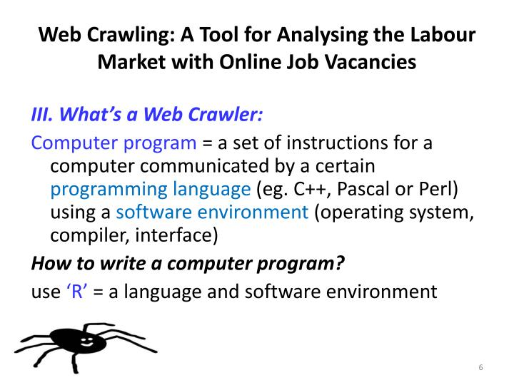 Web Crawling: A Tool for