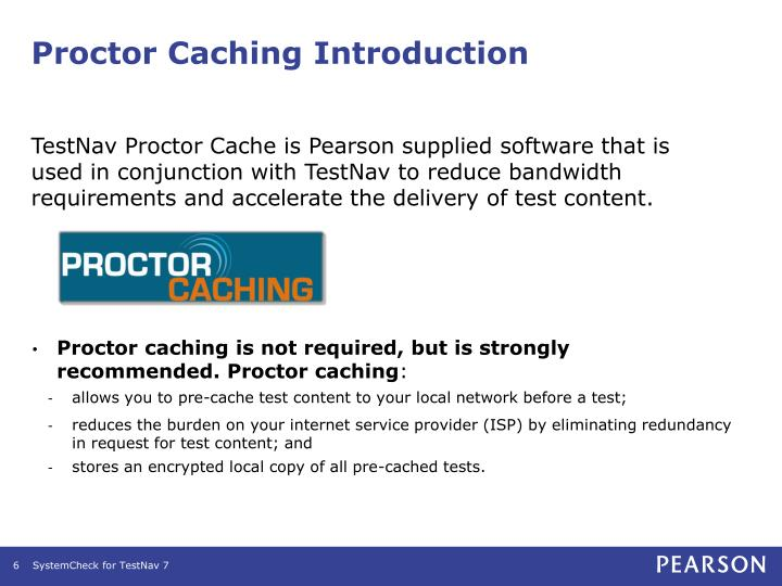 Proctor Caching Introduction